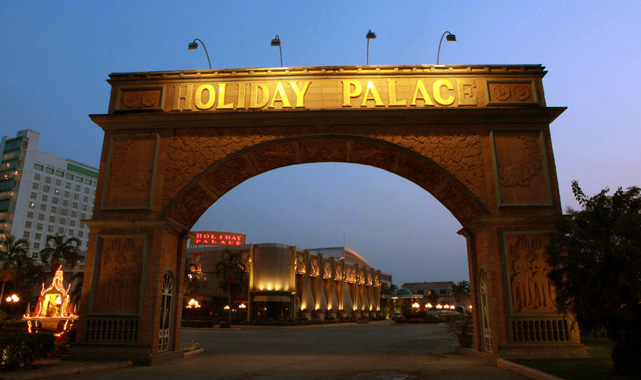 holiday palace entrance