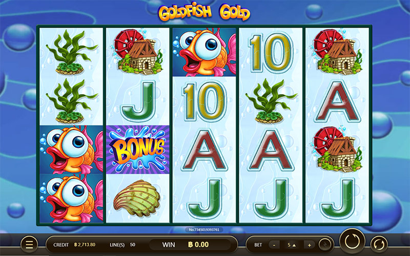 gold fish slot online